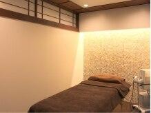 【施術ルーム】モダンでお洒落な完全個室。特別な時間を♪