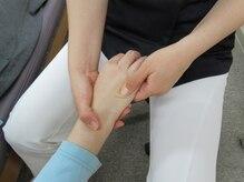 静岡療術整体院/【本格メソッド】手部の本格調整