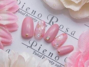 ピエノローサ(Pieno Rosa)/ジェルネイルアートし放題¥6600