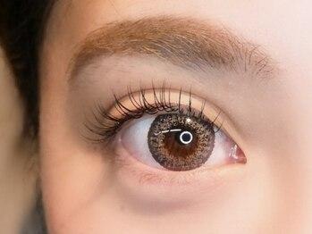 アタッカ アイラッシュ(atacca eyelash)の写真/【都立大学でパリジェンヌは当店へ!】ナチュラルビューティな目元をご提供☆自まつ毛の負担も少ないです♪