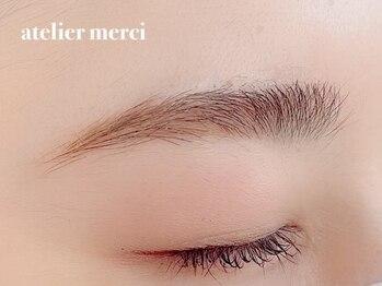アトリエメルシー 青葉台(atelier merci)の写真/眉毛の形で印象で印象は変えられる!マスク生活が続く今こそプロのお手入れを試してみませんか?[青葉台]