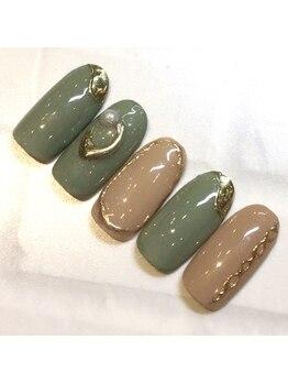 ライト ネイルズ ニシノミヤ(light nails NISHINOMIYA)/¥8800