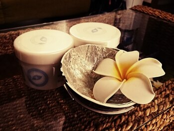 タイ古式マッサージ アンド オイルマッサージ ソイ201(SOI201)/オイルにクリームを加えて