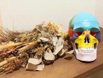 グレースフィオーレ 博多店(gracefiore)/カラフル頭蓋骨!