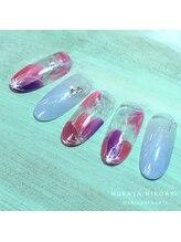 ネイルスタジオ レイナローズ(NAIL STUDIO Reina Rose)/【春デザイン】フラワーフレンチ