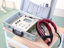 加圧トレーニングスタジオ ピースリー(P3)の雰囲気(加圧トレーニング指導資格者専用の空圧式加圧トレーニング機。)