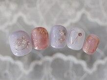 """bridal nail image """"lavender"""""""