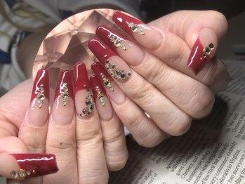 """ラブーン(Raboum)の写真/爪の長さでお悩みの方に。【Raboum】の圧倒的なセンスで洗練された指先へ。貴女の""""なりたい""""を叶えます。"""