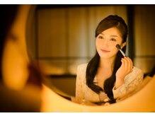 [お化粧直し] 美しいひとをうつすなら、鏡もまた、うつくしく。