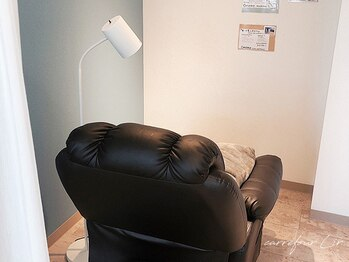カルフール リル(Carrefour Lir)の写真/【密を避ける】半個室×リクライニングチェアでくつろぎ時間◎プライベート空間でマツエク・まつげパーマ♪