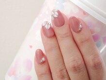 ネイルサロンブラン(nail salon BLANC)/桜のピンクネイル