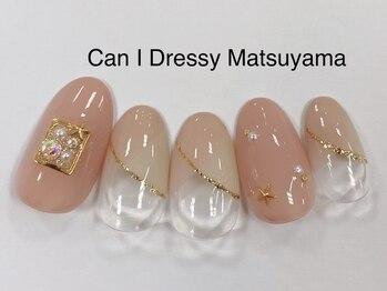 キャンアイドレッシー 松山大街道店(Can I Dressy)/お星さまネイル 5500円