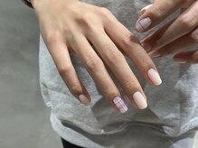〈nail〉delicate design