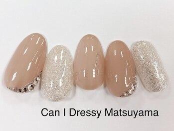 キャンアイドレッシー 松山大街道店(Can I Dressy)/清楚系ネイル 4400円