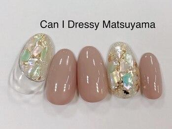 キャンアイドレッシー 松山大街道店(Can I Dressy)/シェルネイル 4980円