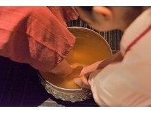 ルアンルアン エミオ東久留米店の雰囲気(足裏整体リフレにはハーブの足浴がついています!)