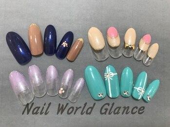 ネイルワールド グランス(Nail world glance)/4980定額デザイン(税抜)