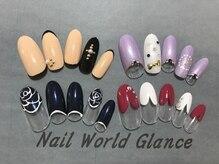 ネイルワールド グランス(Nail world glance)/5980定額デザイン(税抜)