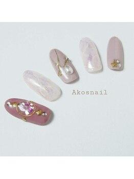 アコズネイル(Ako's nail)/ネイルデザイン【1】