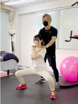 プラスワン(PLUS ONE)の写真/プロが教える体幹トレーニング&ボディメンテナンス!!1人1人の筋肉バランスを見極め的確にアドバイス☆
