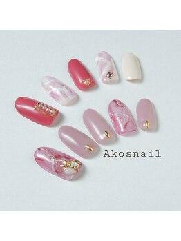アコズネイル(Ako's nail)/ネイルデザイン【2】