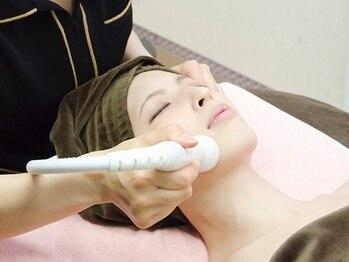 脱毛 フェイシャルサロン クレアスの写真/徹底的にお肌のハリ・しみ・しわ改善!内側の皮膚層からアタックしていくスペシャルケア☆