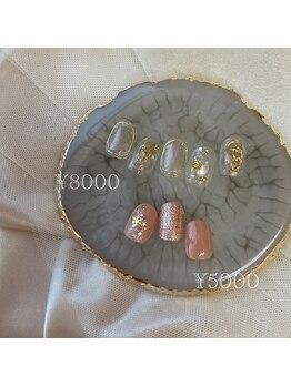 ファーストネイルアンドアイラッシュ 札幌駅前店(1stNAIL&eyelash)/■定額デザイン¥8000■