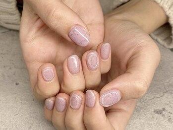 ケイティ ネイルズ(katie nails)の写真/【価格・アクセス・技術◎】周りと差がつくシンプルネイル♪ショートネイルやワンポイトネイルもお任せ☆