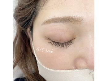 スウィートラッシュ(Sweet Lash)の写真/マスク装着時もしっかりと馴染む。ベテランスタッフにお任せ♪【フラット220本¥9090/セーブル220本¥7990】