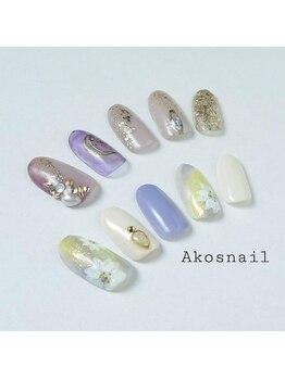 アコズネイル(Ako's nail)/ネイルデザイン【5】