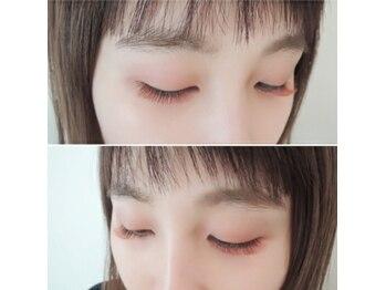 アイウィッシュ(EyeWish)の写真/最旬目元で暖かみ◎目元を明るく彩る《ダークブラウン》は普段使いにも♪+¥1100カラーエクステに変更可能!