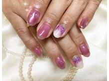 ウィズ フェリーク/水滴紫陽花ネイル