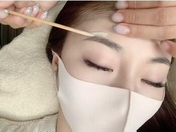 シエル(Ciel)の写真/【長居駅すぐ】目と眉で印象が決まる時代!自眉を活かしたオーダーメイドデザインで清潔感のある美眉へ★