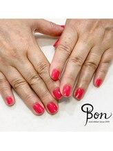 ネイルアトリエ ボン(nail atelier bon)/シェラックワンカラー