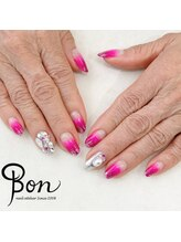 ネイルアトリエ ボン(nail atelier bon)/キラキラ☆ビジューネイル