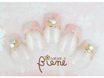 ネイルサロン ビーネ(nail salon Biene)/スプリングネイル2017¥12980-3