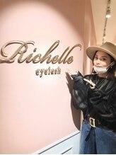 リシェルアイラッシュ 関内店(Richelle eyelash)/モデルの島袋聖南様ご来店♪