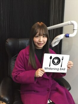 ホワイトニングバー 町田店(WhiteningBAR)/元SKE48松村香織さんご来店