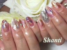 シャンティ ネイルサロン(Shanti nail salon)/個性派ミラーネイルシェルネイル