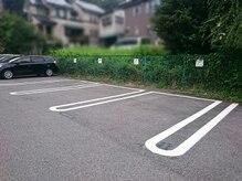シータ(THETA)の雰囲気(THETA (P)マークの枠線内にご駐車ください(^^))