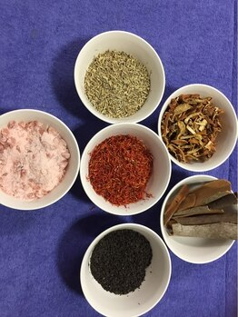 漢方セラピーサロン シエルブリュ(Ciel Bleu)/足湯剤、入浴剤、よもぎ蒸し溶剤
