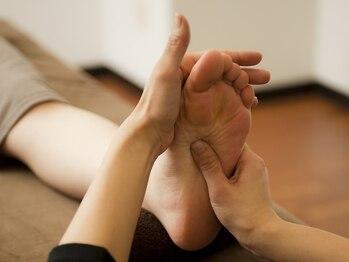 ほぐりえ 小禄店の写真/足裏から膝下まで徹底的にツボを刺激!!【もみほぐし+足つぼ】で、気になる足のむくみ改善&スッキリ美脚に♪