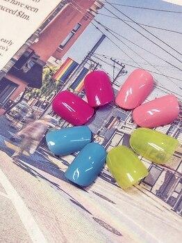 ヴェローナ ネイルアンドエステティック 恵比寿店(VERONA)の写真/【初回オフ込◆ワンカラ・ラメグラ・カラグラ¥3780】仕事柄派手にできない方、シンプル派にお勧め♪