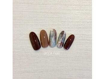 アッカネイル(acca nail)/1月マンスリーデザイン♪