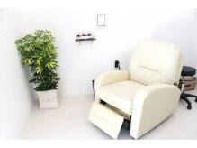 個室でゆっくり、リクライニングソファー