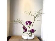 シェーブアンドリラックス ハラダ(Harada)の雰囲気(今は生け花を飾っています♪)