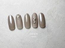 グレース ネイルズ(GRACE nails)/グレージュ