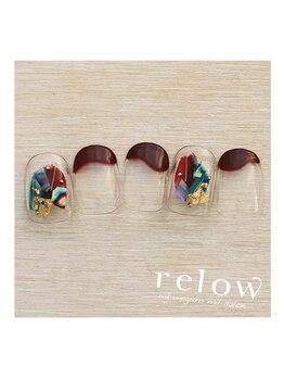 リロウ(relow)/1月のスタッフおすすめネイル♪