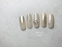 グレース ネイルズ(GRACE nails)/星ネイル