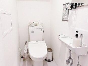 プライベートビューティーサロン アンド 八王子店(Private Beauty Salon &)/トイレ